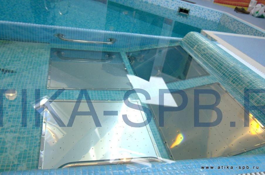 Аэромассаж в бассейне