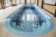 Отделка бассейна плиткой и мозаикой