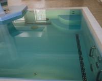 Гидромассаж и гейзер в бассейне