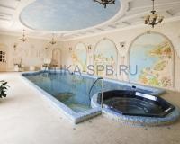 бассейн с джакузи