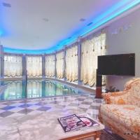 Дизайн интерьера помещения бассейна