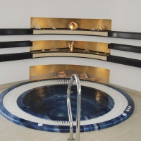 Переливной СПА бассейн