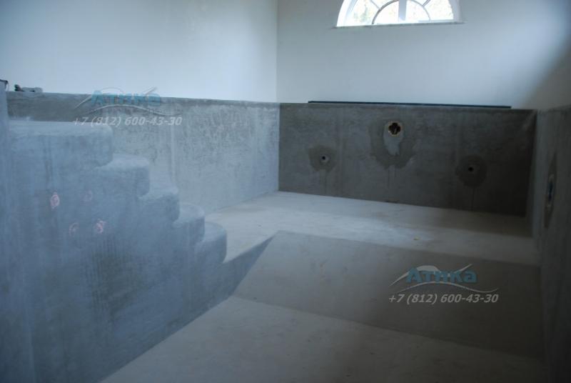 Штукатурка бассейнов в Санкт Петербурге