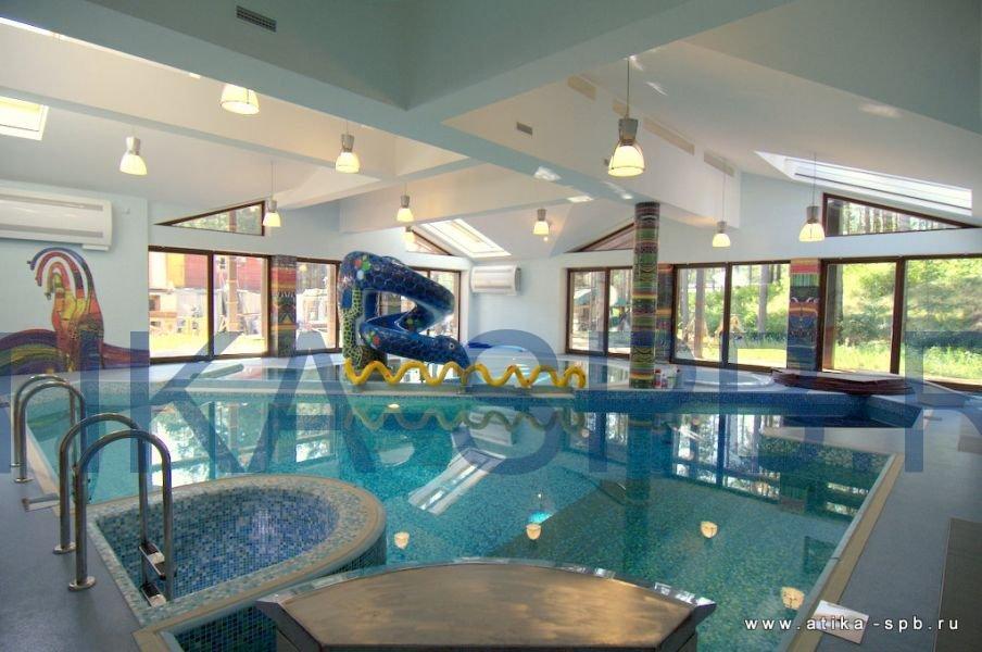 Проектирование и строительство бань с бассейнами