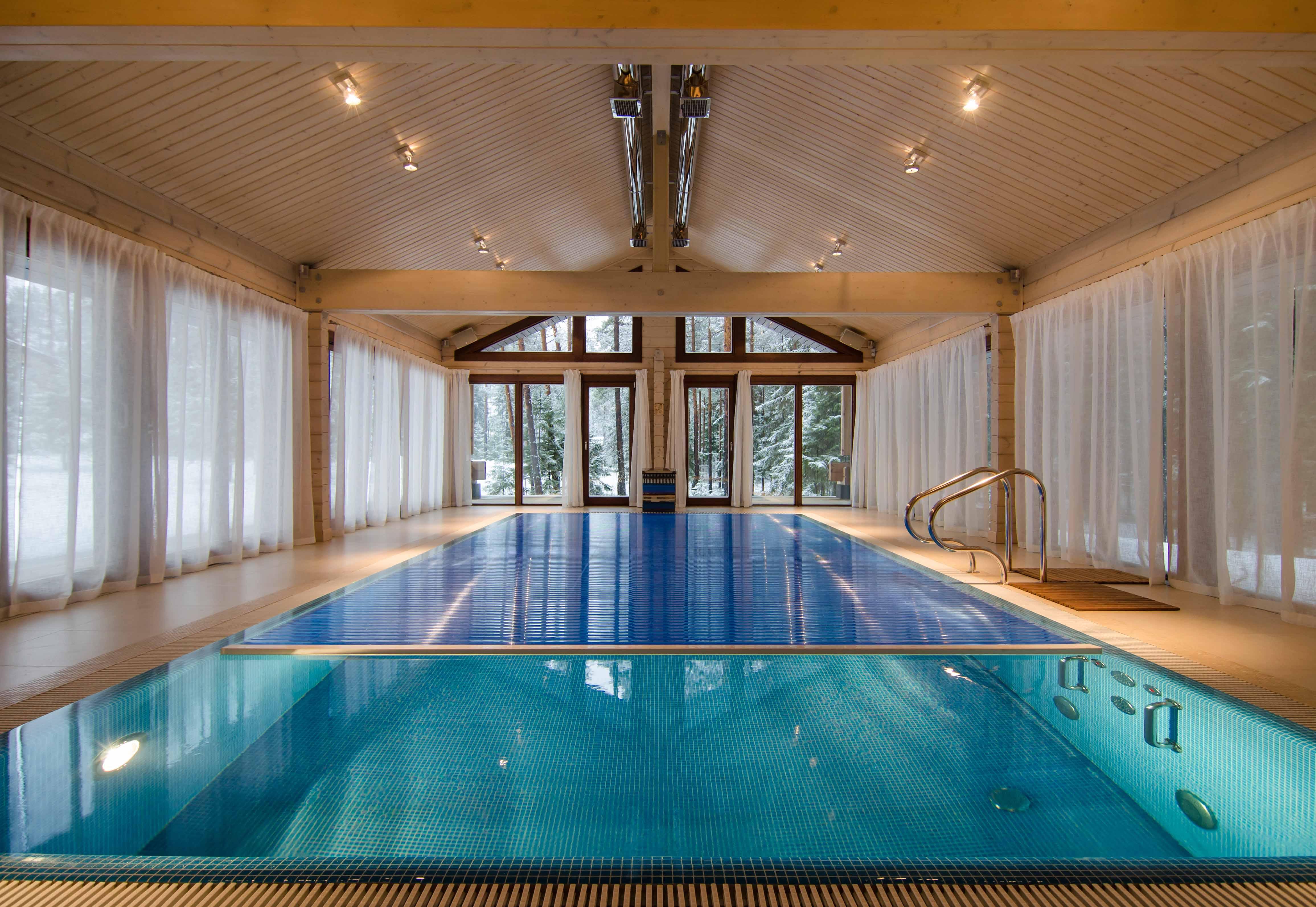 климатическая установка для бассейна