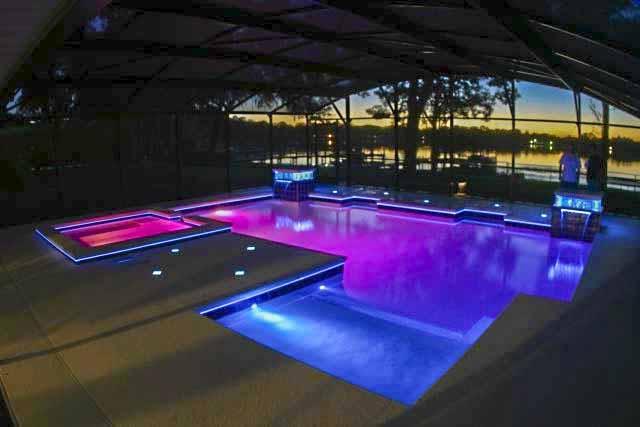 светодиодные светильники для бассейна