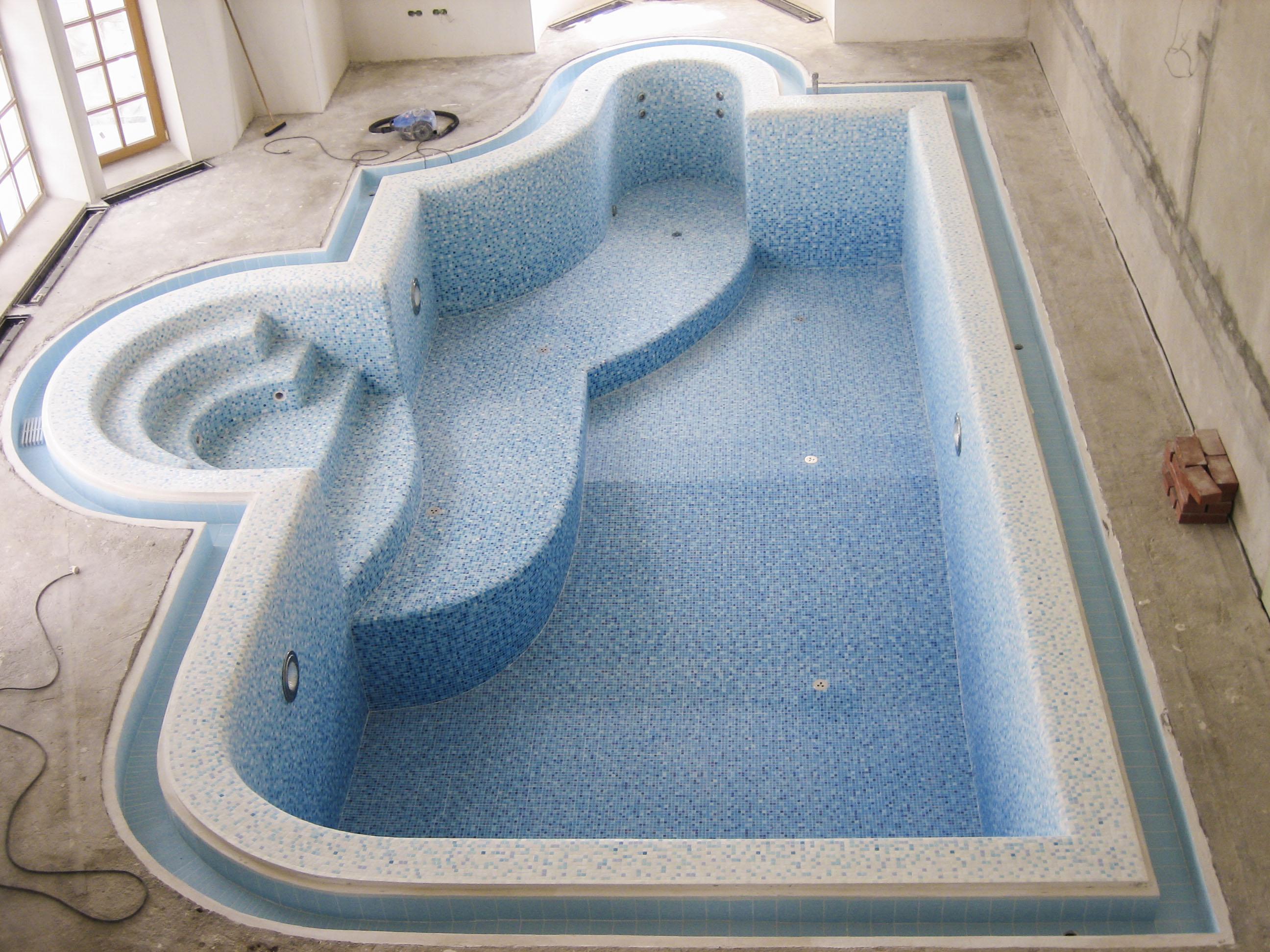 Отделка бассейнов