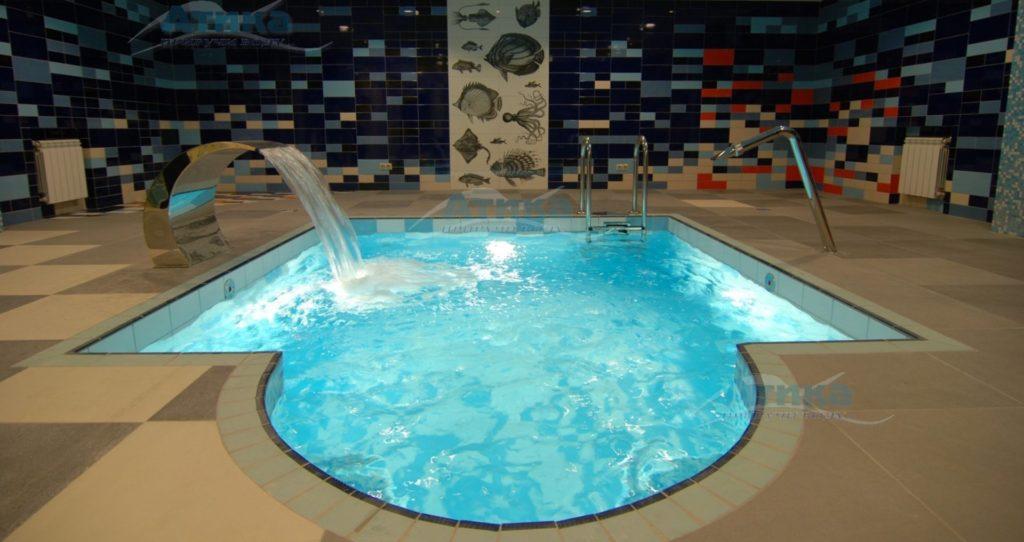Строительство СПА гидромассажных бассейнов