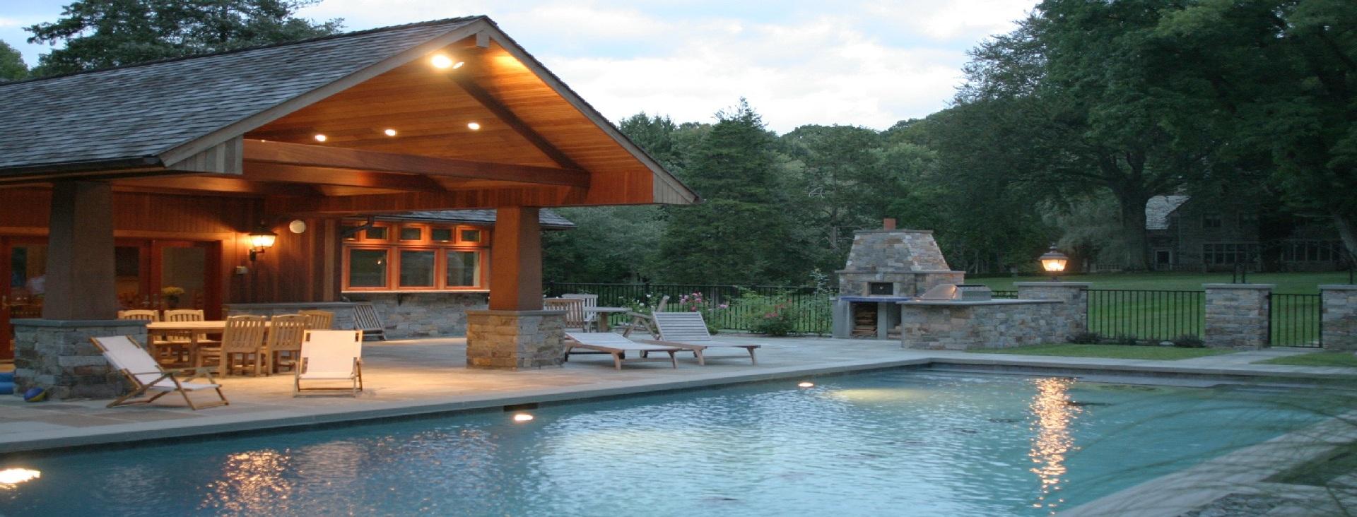 Строительство коттеджей с бассейнами