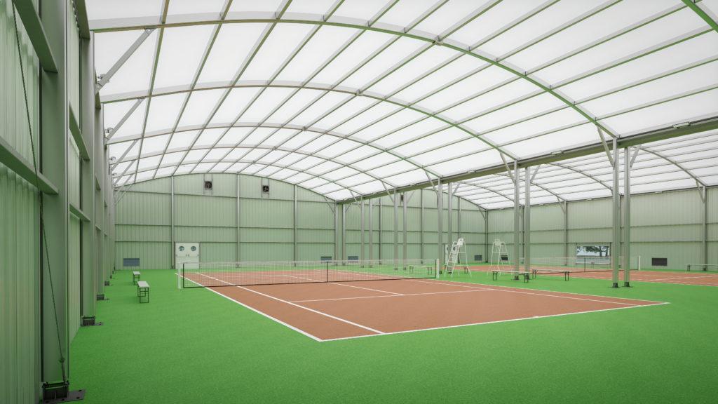 Строительство спортивных комплексов