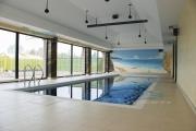 Отделка бассейнов плиткой, мозаикой. Атика. СПБ. Санкт-Петербург