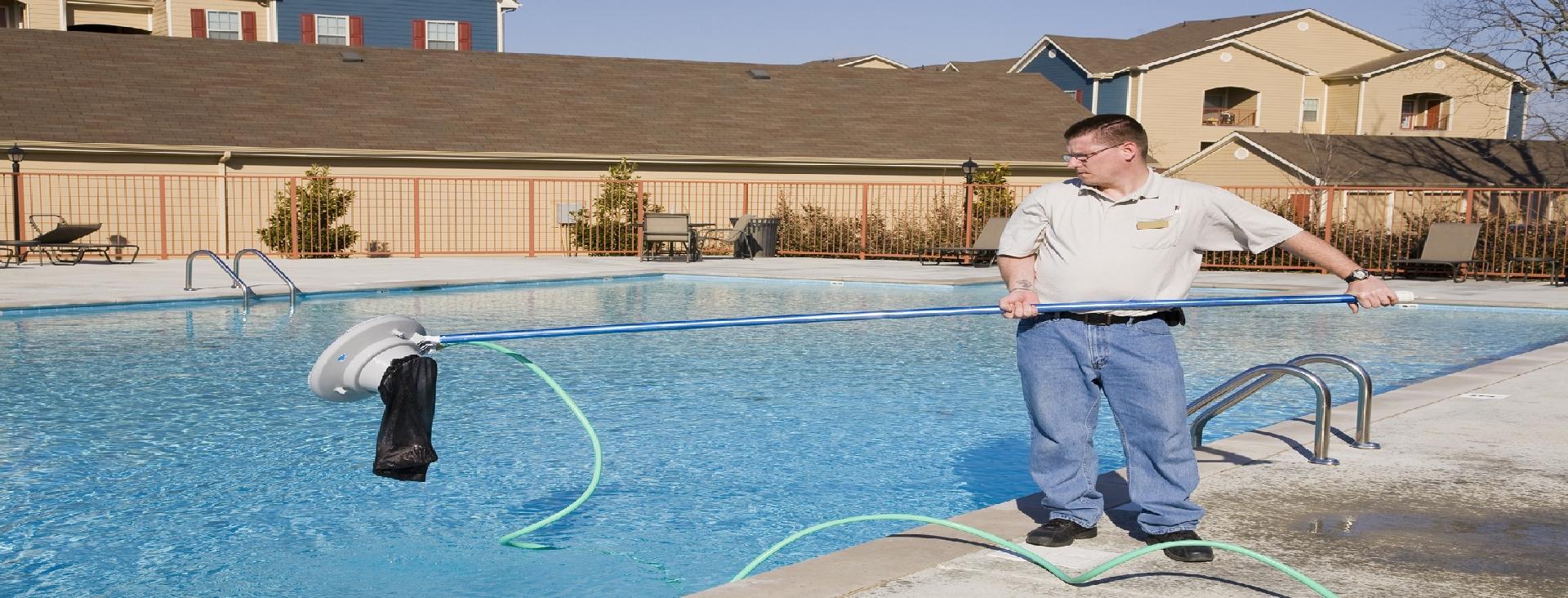 Сервисное обслуживание бассейновОбслуживание бассейнов